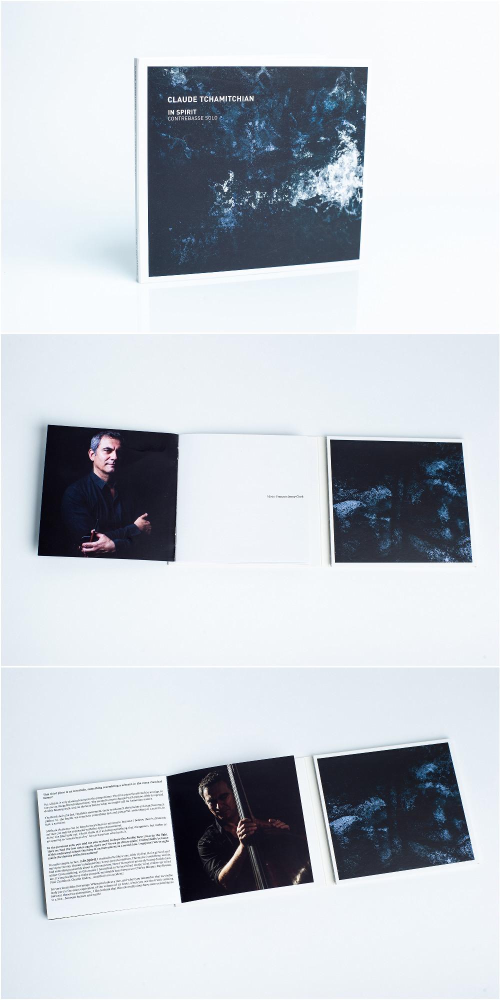Claude Tchamitchian -In Spirit,Contrebasse Solo, 2018.