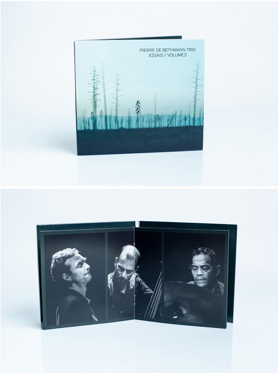 Pierre de Bethmann Trio - Essai / Volume 2, 2017.