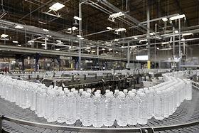 bottled-water-on-conveyor-at-bottling-pl