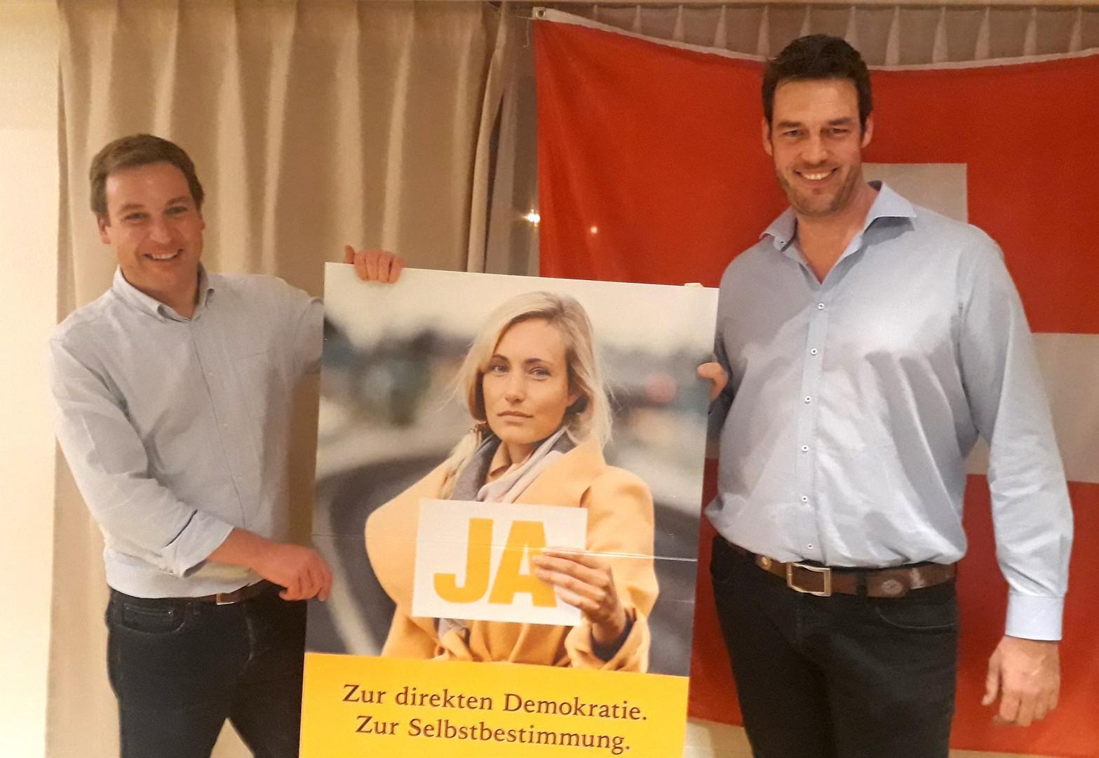 Mit Nationalrat Lukas Reimann im Freiamt