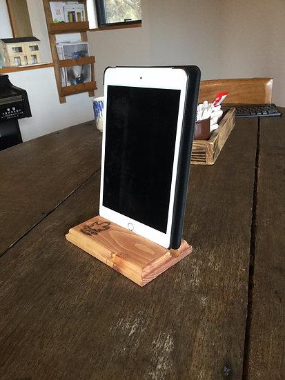 木製手作りスマートフォンスタンド