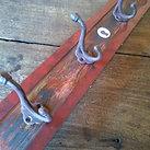 手作り 木製壁掛けフック・コートハンガー(4個用)