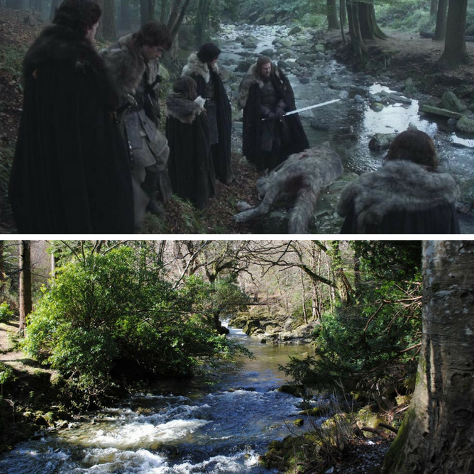 Tollymore Forest Park Winterfell (Game of Thrones)
