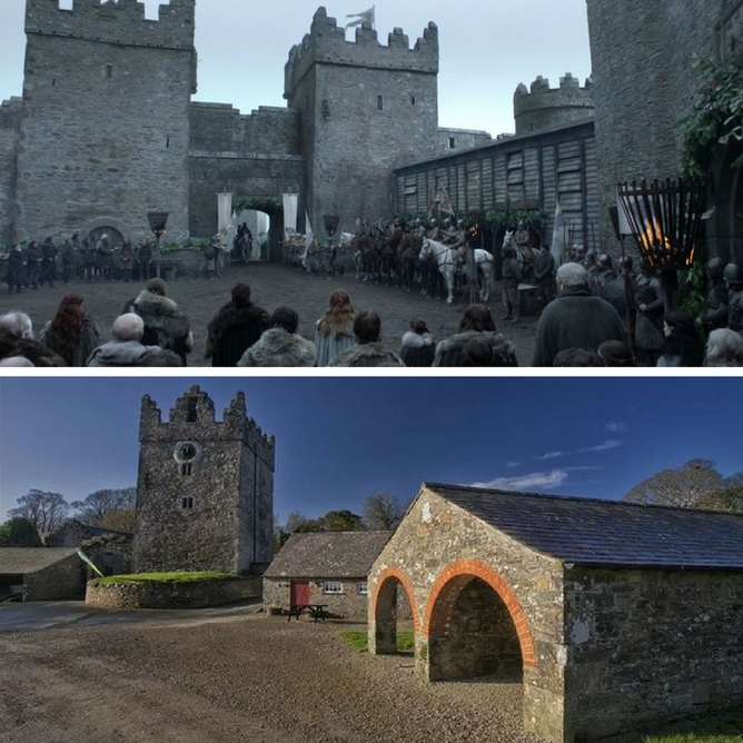 Castle Ward Winterfell Game of Thrones