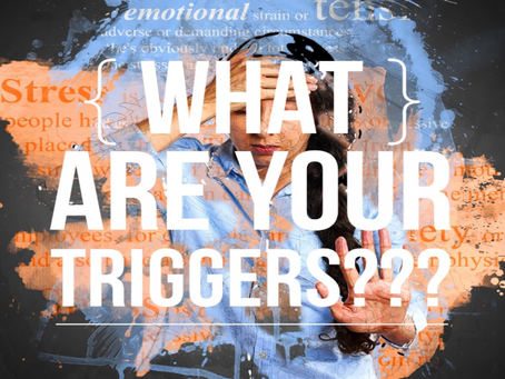 "How to identify the ""Triggers"" that are causing anxiety"