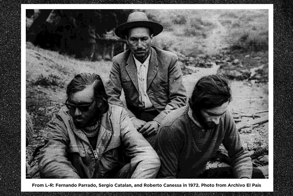 Seen in photo: Fernando Parrado, Sergio Catalan, and Roberto Canessa | Andes Mountain Flight 571 Plane Crash | A Lifestyle Blog by Andi | Philippines