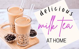 DIY Milk Tea at Home with Injoy