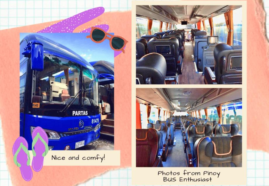 Partas Luxury Bus | Buses going to Ilocos Region | Laoag Sand Dunes Philippines