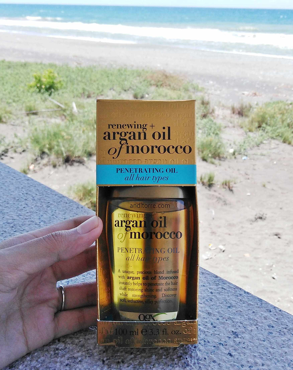 OGX Renewing + Argan Oil of Morocco Penetrating Oil | Review | A Lifestyle Blog by Andi