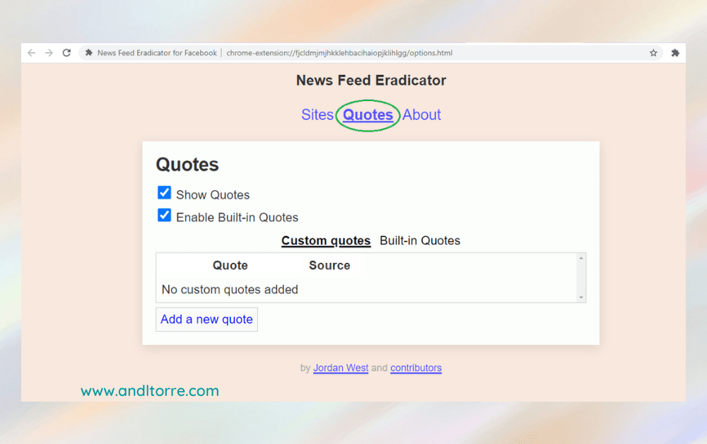 Facebook News Feed Eradicator | A Lifestyle Blog by Andi | Philippines