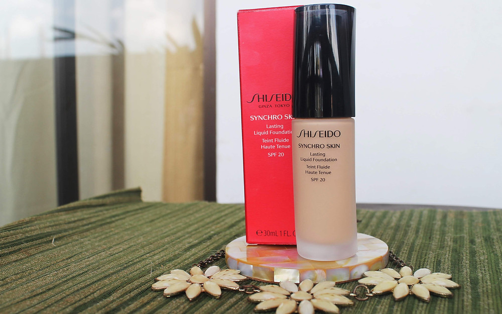 Synchro Skin Lasting Liquid Foundation with SPF 20 | Product Review | A Lifestyle Blog by Andi | Philippines