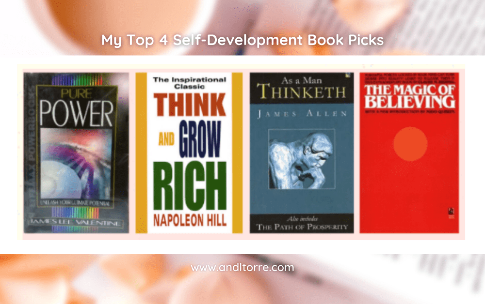 Best Self-Help/Motivational Books | A Lifestyle Blog by Andi | Philippines