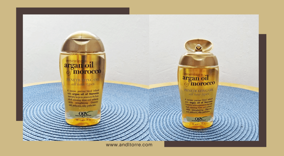 OGX Argan Oil of Morocco Product Review | A Lifestyle Blog by Andi | Philippines