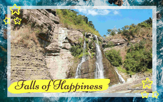 Falls of Happiness in Ilocos Sur