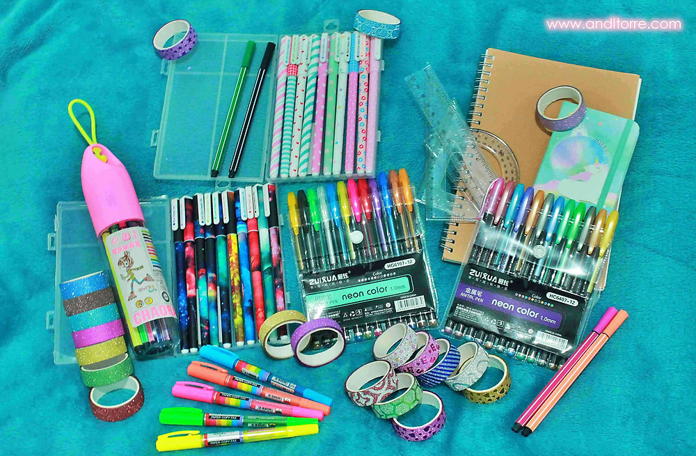 Stationery Haul from Shopee | A Lifestyle Blog by Andi | Philippines