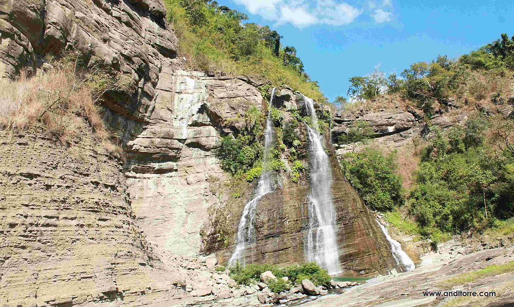 Image of Sangbay ni Ragsak (Falls of Happiness) located in the municipality of Suyo, Ilocos Sur. Philippines