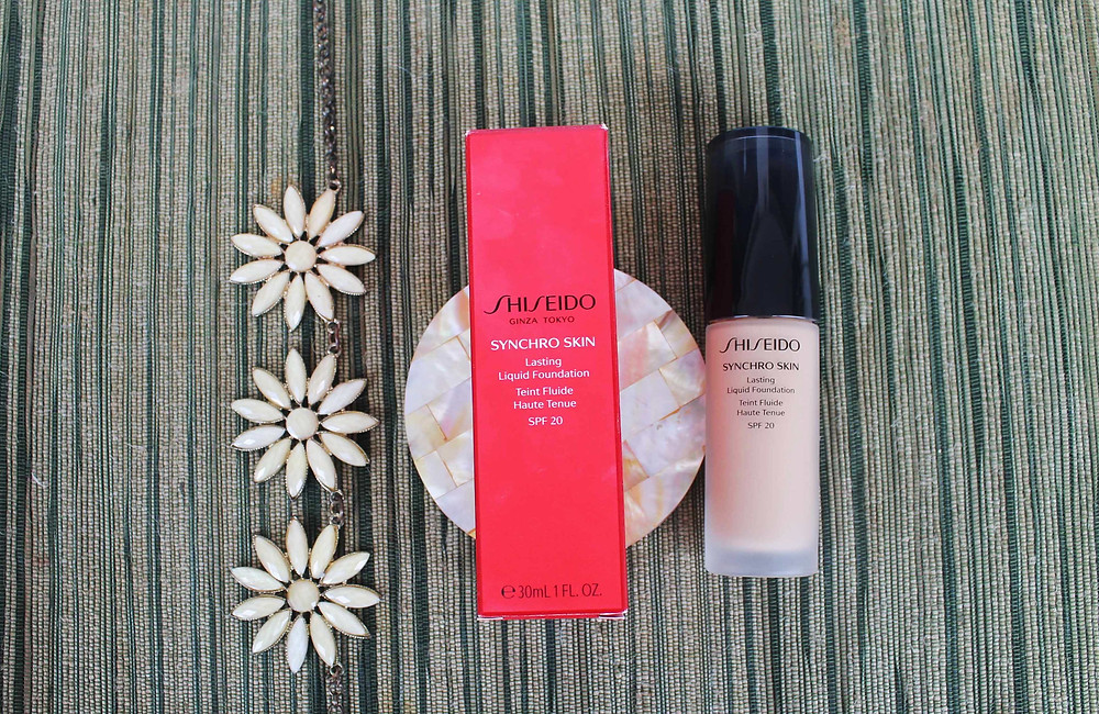 Shiseido Philippines | Synchro Skin Lasting Liquid Foundation with SPF 20 | Product Review | A Lifestyle Blog by Andi | Philippines