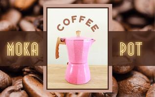 Brewing Coffee with a Moka Pot