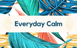 Calmness is Power + Journal Sneak Peek