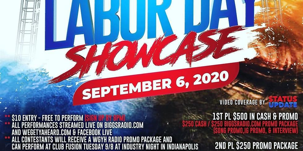 WeGetYaHeard Presents Labor Day Showcase