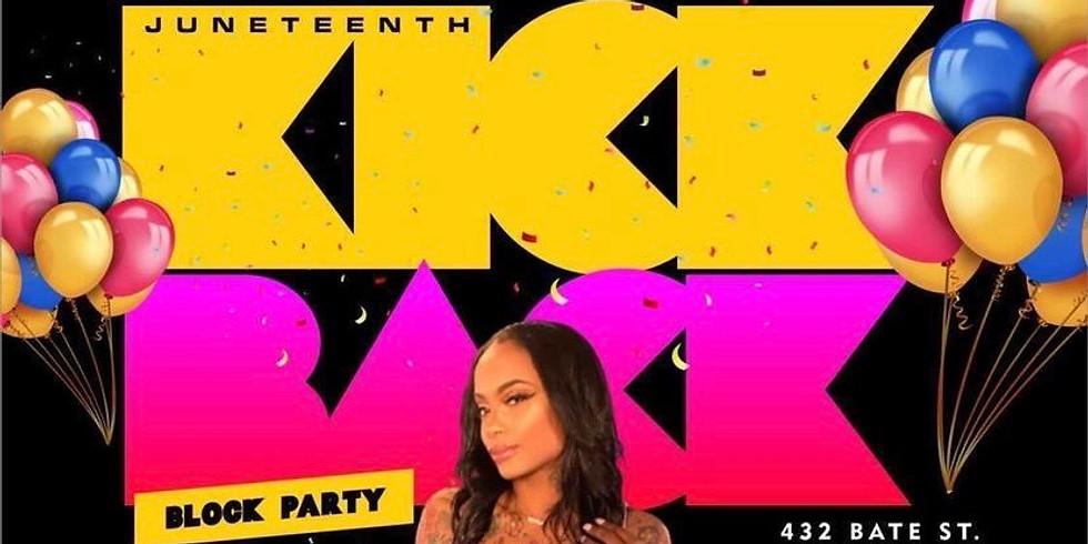 Juneteenth Kick Back Block Party