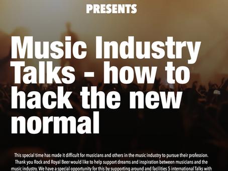 Tak Rock (Denmark) Presents - Royal Music Industry VIP Talks Series