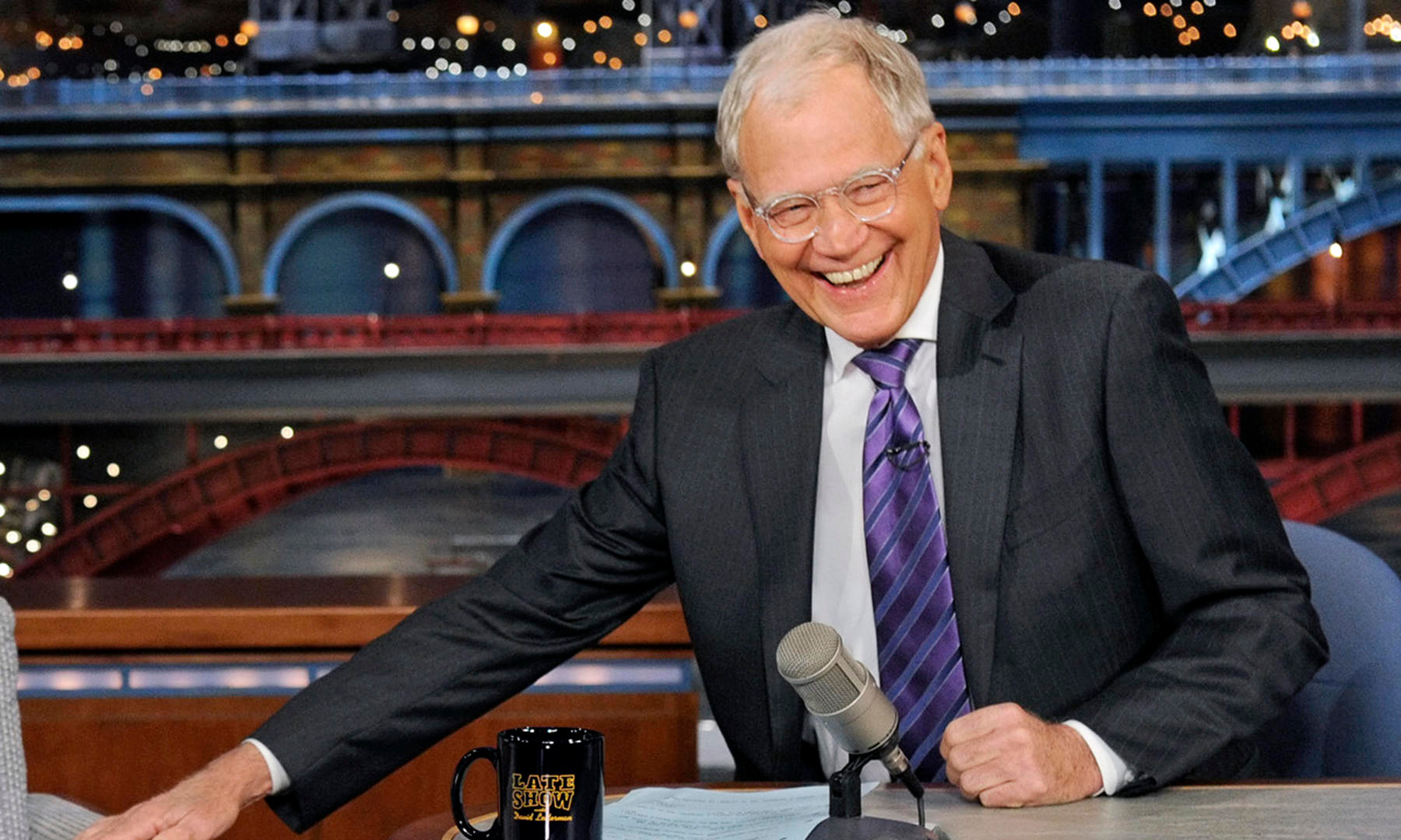 Late night show with David Letterman