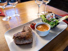 Steak de boeuf à la façon hussarde