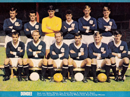 RetroWednesdays - Dundee Football Club at the 1967–68 Inter-Cities Fairs Cup