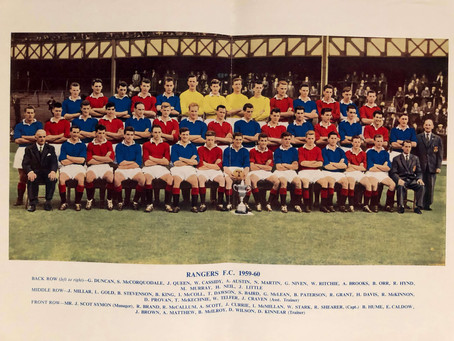 #RetroWednesdays - Rangers FC at the 1959–60 European Cup
