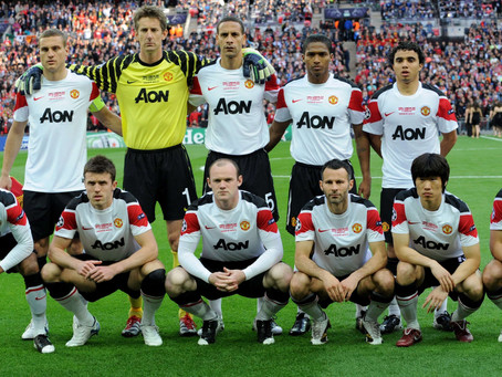 #RetroWednesdays - Manchester United at the 2010–11 UEFA Champions League