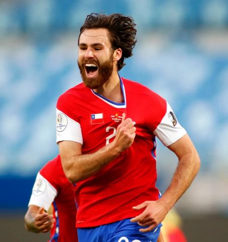 Ο Άγγλος παίκτης της εθνικής Χιλής