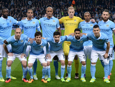 RetroWednesdays - Manchester City  at the 2015–16 UEFA Champions League