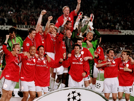 RetroWednesdays - Manchester United  at the 1998–99 UEFA Champions League