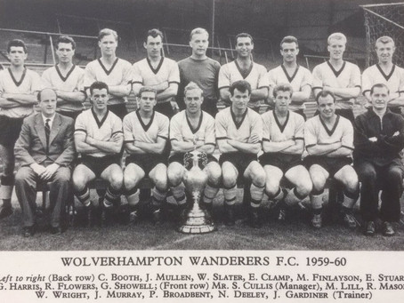 #RetroWednesdays - Wolverhampton Wanderers FC at the 1959–60 European Cup