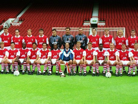 RetroWednesdays - Arsenal at the 1994–95 UEFA Cup Winners' Cup