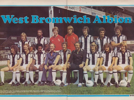 #RetroWednesdays - West Bromwich Albion at the 1978–79 UEFA Cup