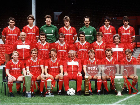 RetroWednesdays - Liverpool FC at the 1984–85 European Cup
