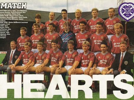 #RetroWednesdays - HeartofMidlothianFC at the 1988–89 UEFA Cup