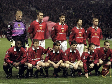 RetroWednesdays - Manchester United at the 1996–97 UEFA Champions League