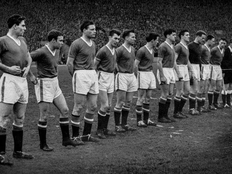 #RetroWednesdays - Manchester United at the 1957–58 European Cup
