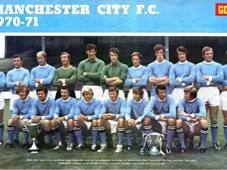 RetroWednesdays - Manchester City at the 1970–71 European Cup Winners' Cup