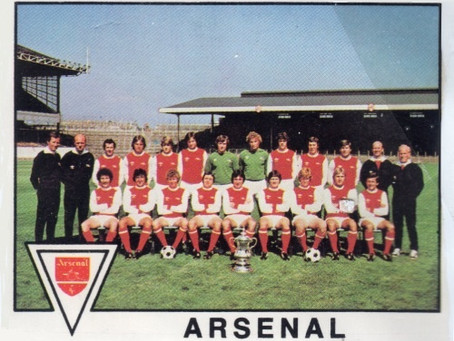 #RetroWednesdays - Arsenal at the 1979–80 European Cup Winners' Cup