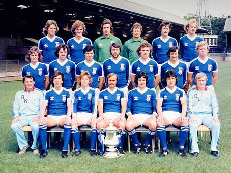 RetroWednesdays - Ipswich Town Football Club at the 1978–79 European Cup Winners' Cup