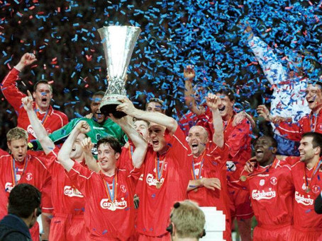 RetroWednesdays - Liverpool FC  at the 2000–01 UEFA Cup
