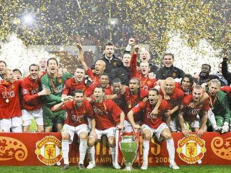 #RetroWednesdays - Manchester United at the 2007–08 UEFA Champions League