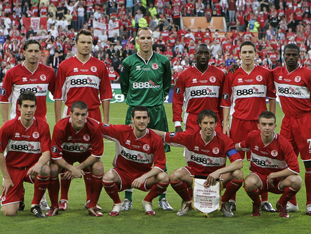 RetroWednesdays - Middlesbrough FC at the 2005–06 UEFA Cup
