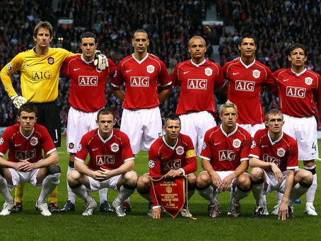 RetroWednesdays - Manchester United at the 2006–07 UEFA Champions League