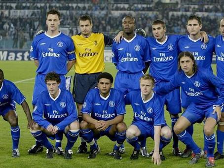 #RetroWednesdays - Chelsea Football Club at the 2003–04 UEFA Champions League