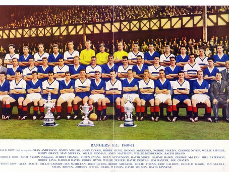 #RetroWednesdays - Rangers FC at the 1960–61 European Cup Winners' Cup